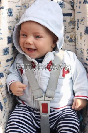 germany bavaria baby boy with hood