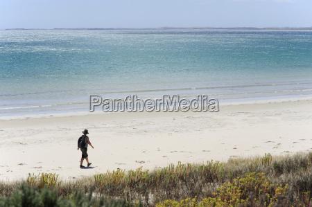 australia south australia robe woman walking