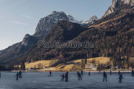germany bavaria berchtesgadener land ramsau lake