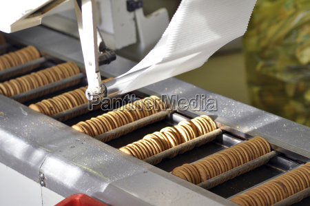 germany food industry cookie production in