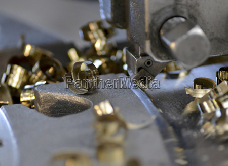 germany machine of metal processing with