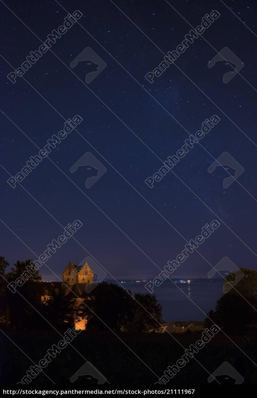 germany, , view, of, meersburg, castle, and - 21111967