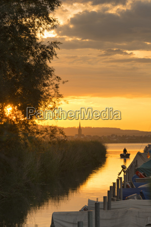 germany view of fishing boat with