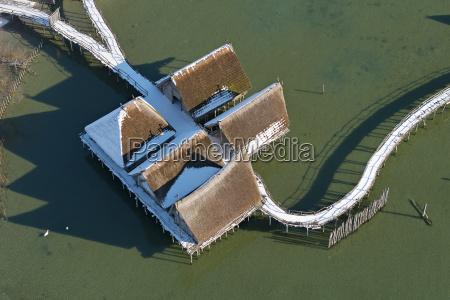 germany baden wurttenberg lake constance stilt