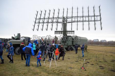military radar antenna a grid of