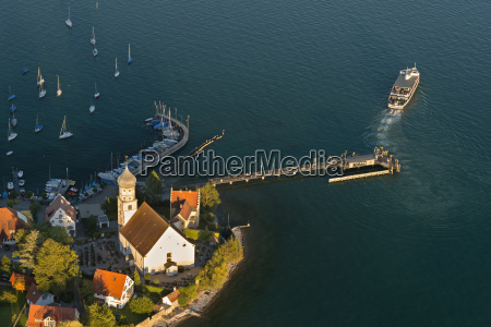 germany bavaria lake constance wasserburg peninsula