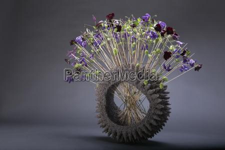 artistic floral decoration