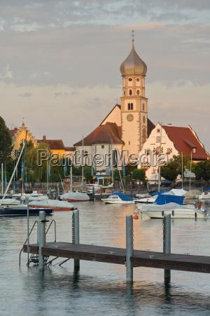 germany bavaria lake constance wasserburg st