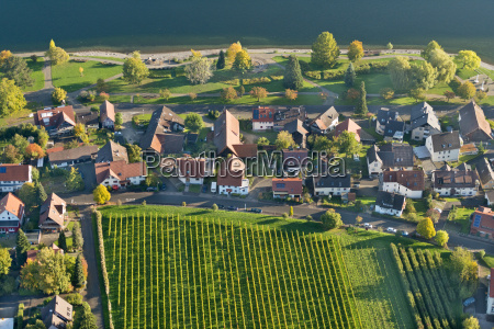 germany baden wurttemberg bodman aerial view