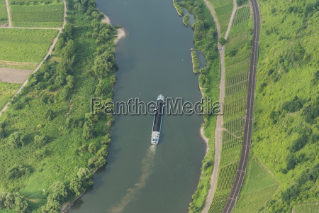 germany rhineland palatinate aerial view of