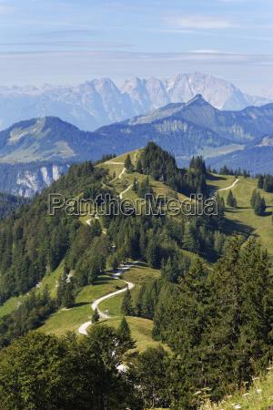 austria salzkammergut pillstein mountain from zwoelferhorn