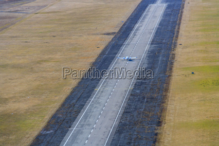 germany bavaria oberschleissheim runway with piper