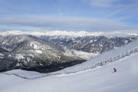 austria carinthia salzburg person skiing in