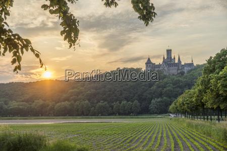 germany lower saxony nordstemmen marienburg castle