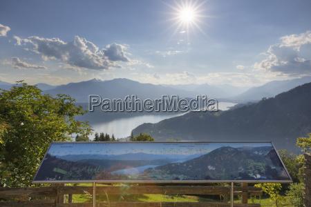 austria carinthia gschriet panorama tableau and