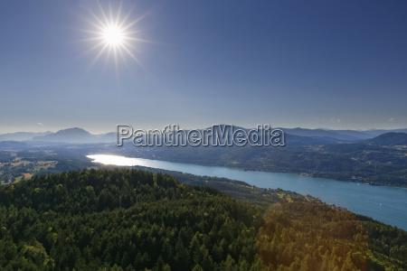 austria carinthia view form pyramidenkogel to