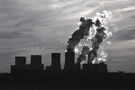 humo fumar medio ambiente industria central