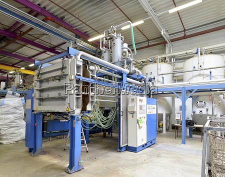 germany machine at hall of plastics