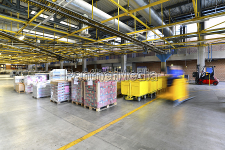 storage of printed material in a