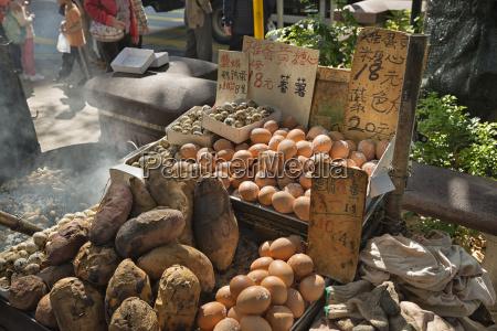 china hong kong stall of a