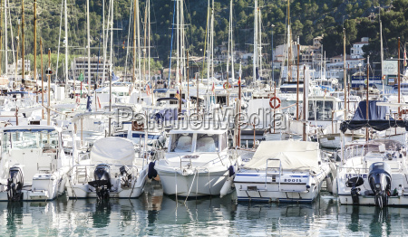 spain mallorca view of yacht at