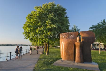 austria vorarlberg lake constance bregenz bronze