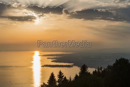 austria vorarlberg lake constance bregenz view