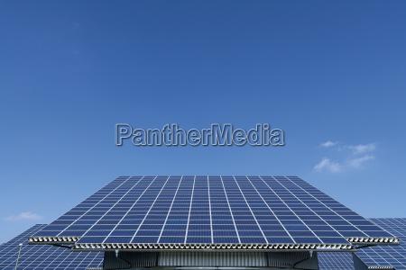 germany bavaria solar panel at photovoltaic