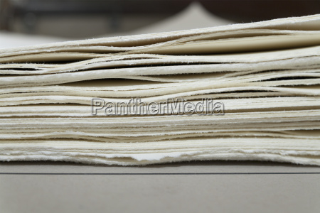 germany bavaria deckle edge paper for