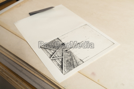germany bavaria deckle edge paper with