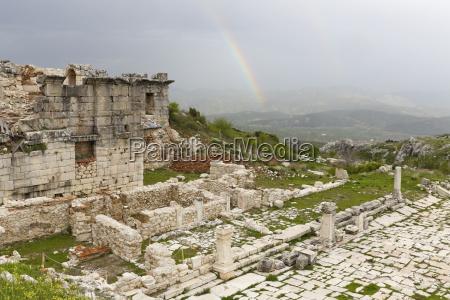 turkey antalya province pisidia archaeological site