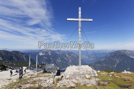 austria salzkammergut dachstein mountains observation platform