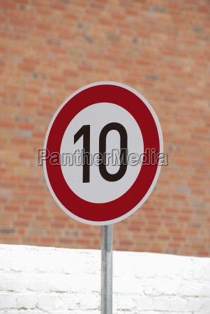 germany, , speed, limit, sign - 21124221