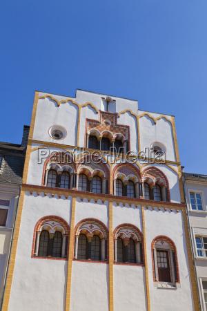 germany rhineland palatinate trier view of