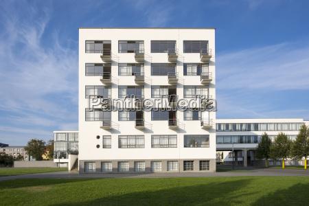 germany dessau rosslau bauhaus atelier building
