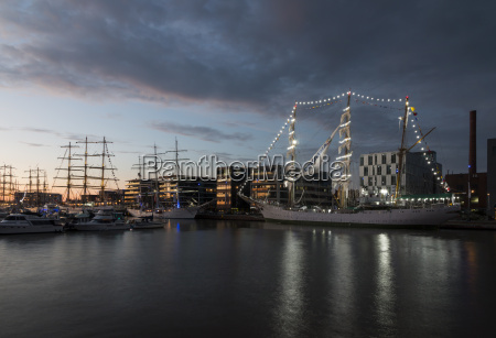 germany bremerhaven sailing ship at the