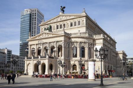 germany hesse frankfurt old opera