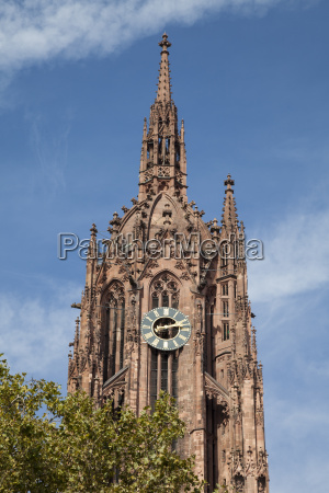 germany hesse frankfurt frankfurt cathedral