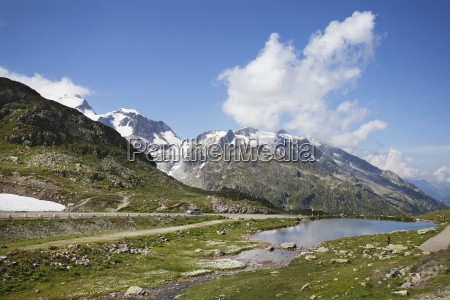 switzerland uri alps susten pass and