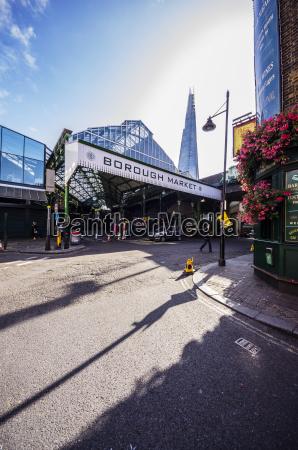 uk london southwark borough market with
