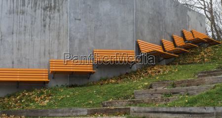 denmark malov park benches