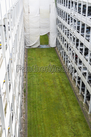 germany duesseldorf renovation of parking garage