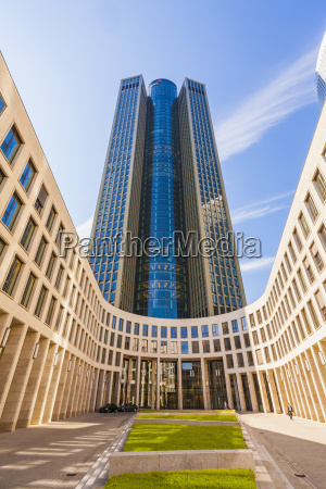 germany hesse frankfurt tower 185