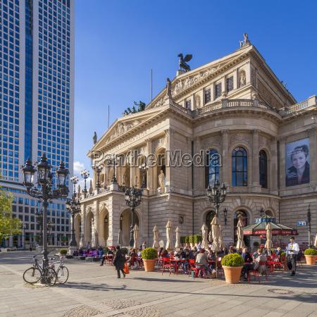 germany hesse frankfurt old opera house