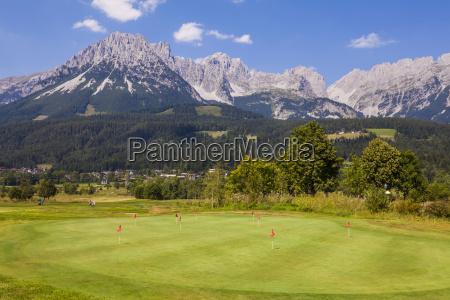 austria tyrol ellmau wilder kaiser golf