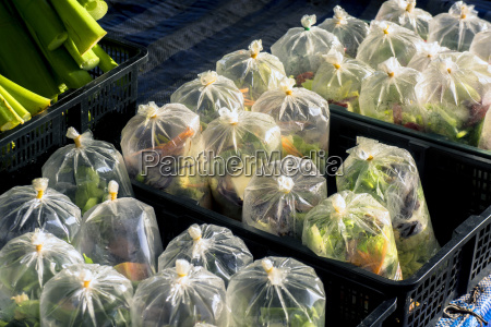 thailand khao lak plastic bags with