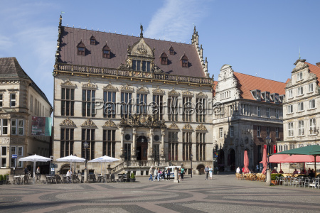 germany bremen market square schuetting chamber