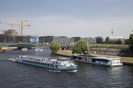 germany berlin government district excursion ships