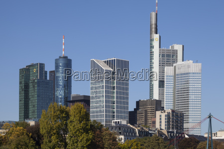 germany hesse frankfurt am main skyline