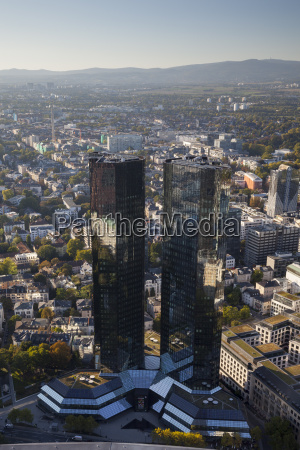 germany hesse frankfurt cityview